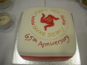 Our 65th Anniversary Cake